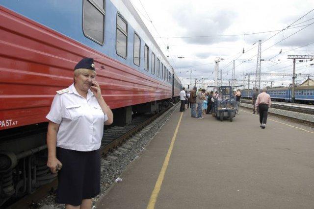 Le Transsibérien... (Photo: archives AFP)