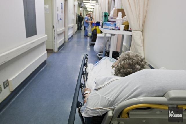 Selon le Dr Jean-Marc Troquet, chef des urgences... (Photo: François Roy, Archives La Presse)