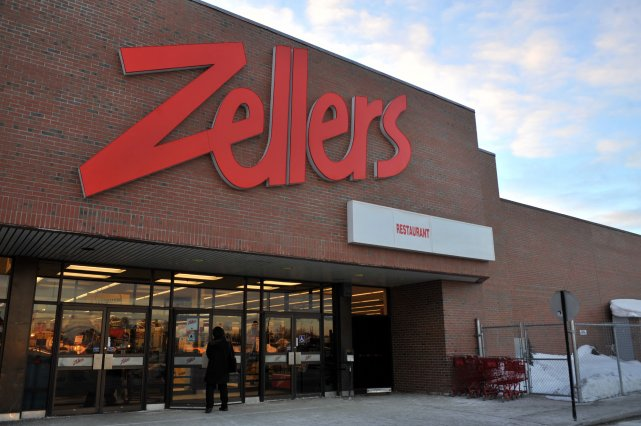 Le magasin Zellers du centre commercial Les Rivières... (Photo d'archives)