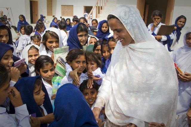 Mukhtar Mai ne s'est pas seulement battue, elle... (Photo: André Pichette, La Presse)