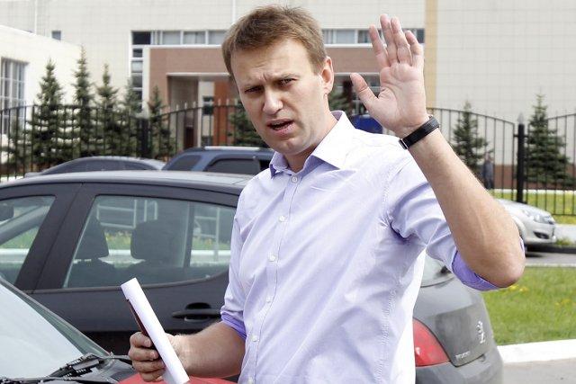 Les ennuis juridiques du blogueur Alekseï Navalny, qui... (Photo: Denis Sinyakov, Reuters)