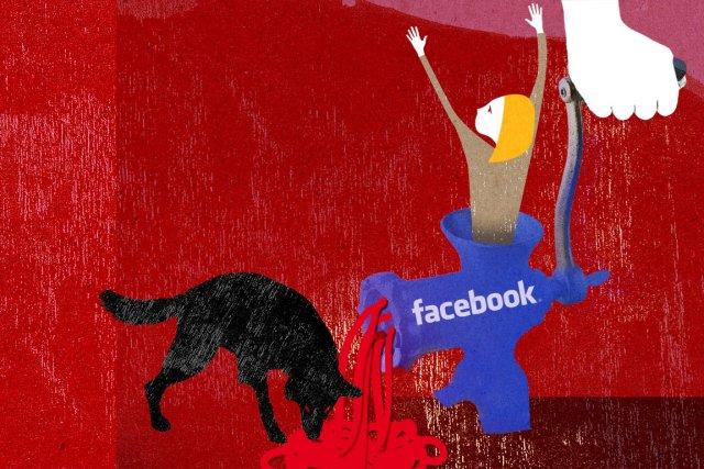 Une enseignante montréalaise qui s'affiche nue sur le site web MySpace, y étale... (Illustration: Veronica Pérez-Tejeda, La Presse)