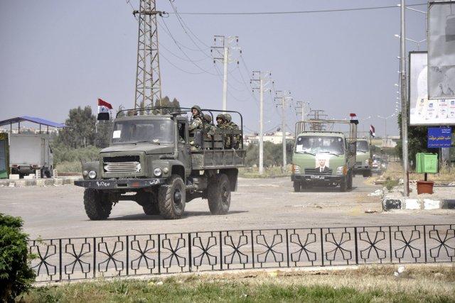 Quarante policiers ont été tués lundi «dans une... (Photo: Archives Reuters)