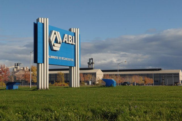 L'Aluminerie de Bécancour inc.... (Photo: Ève Guillemette)