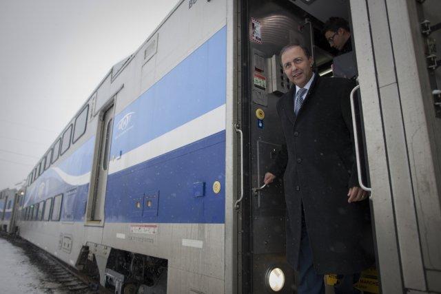 Le ministre des Transports du Québec, Sam Hamad,... (Photo: André Pichette, Archives La Presse)