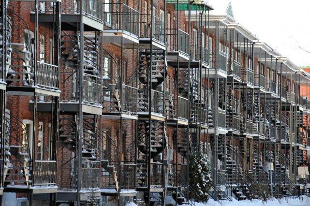 Le taux d'inoccupation moyen des appartements  locatifs... (Photo: Stéphane Lessard)