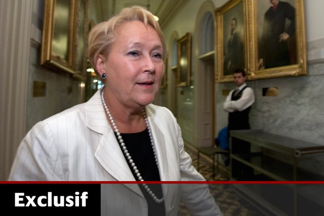 La chef péquiste, Pauline Marois.... (Photo: Jacques Boissinot, Archives PC)