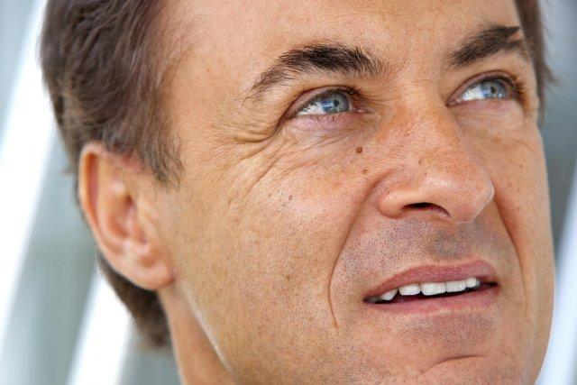 Jean Alesi en est à sa première visite... (Photo: Alain Roberge, La Presse)