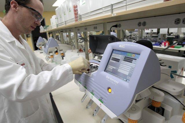 Chez l'homme, une soixantaine de nouvelles mutations génétiques  seraient... (Photo: AP)