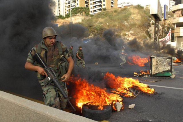 La démission du député druze Talal Arslane a... (Photo: AFP)
