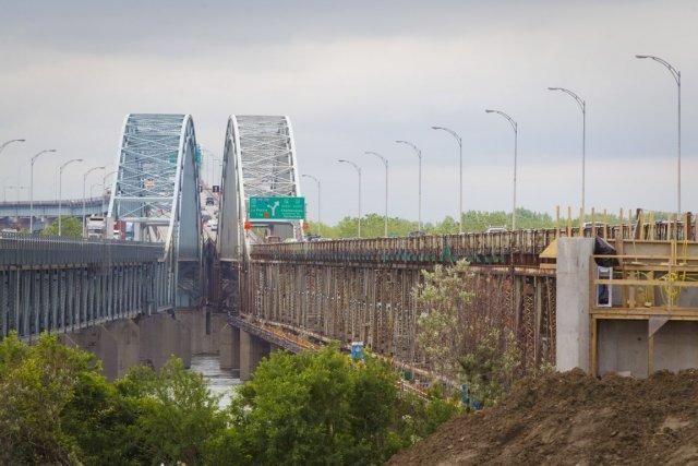 Les automobilistes qui empruntent le pont Mercier vers... (Photo: André Pichette, La Presse)