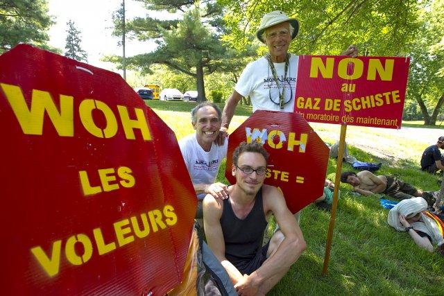 Trois générations d'une même famille ont pris part... (Photo: Alain Roberge, La Presse)