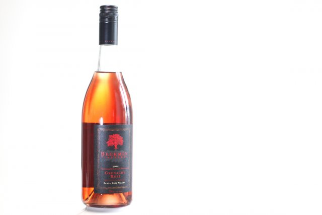 Une bouteille de vin rose Beckman Vineyard... (Photo: Mathieu Bélanger, collaboration spéciale)