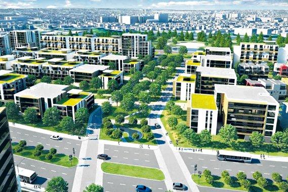 Le plan de développement du secteur de la... (PHotothèque Le Soleil)
