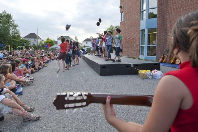 De la maternelle à la 6e année, tous... (Photo: Hugo-Sébastien Aubert, La Presse)