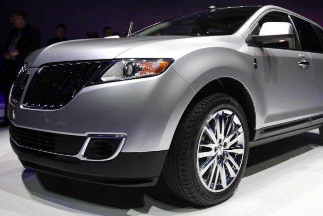 Le Lincoln MKX.... (Photo Reuters)