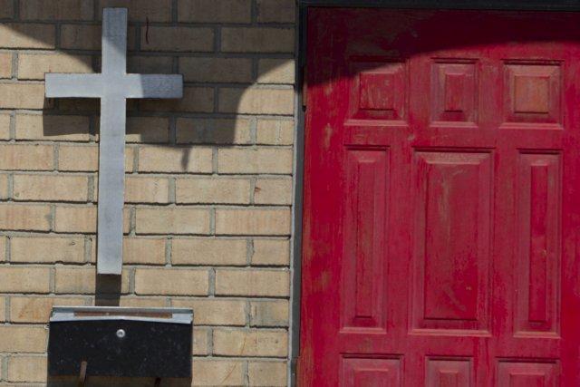 Bienvenue au pays des églises invisibles.... (Photo: Ivanoh Demers, La Presse)