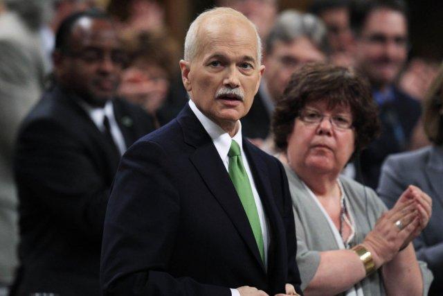 Le chef du Nouveau parti démocratique, Jack Layton,... (Photo: Reuters)