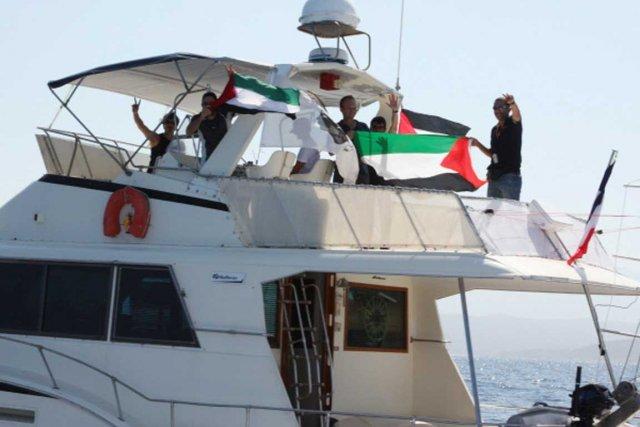 Le bateau français «Dignité-Al Karama» participera à la...
