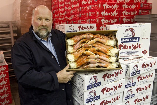 Jean-Yves Cyr, directeur de l'usine Fruits de mer... (Photo: Robert Skinner, La Presse)