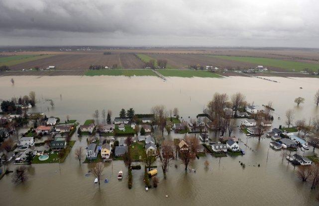 Zone inondable du richelieu un dangereux pr c dent les for Assurer une maison en zone inondable