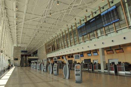 L'achalandage a augmenté à l'aéroport de Québec de... (Photo: Le Soleil)
