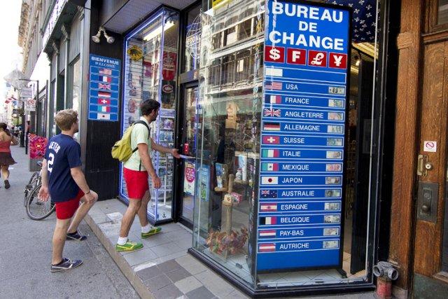 Québec fera la vie dure aux bureaux de change francis