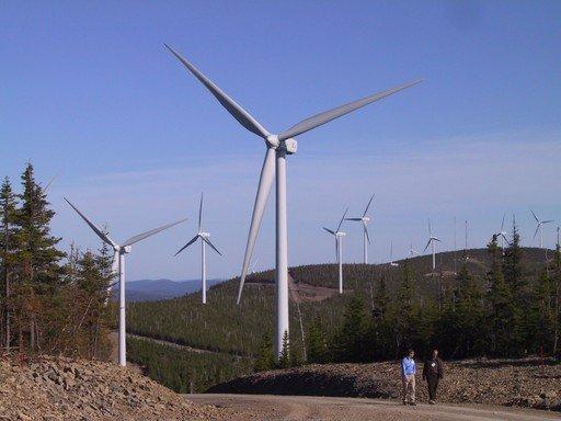 Le gouvernement du Québec a autorisé lundi l'entreprise EDF Énergies à... (Archives)