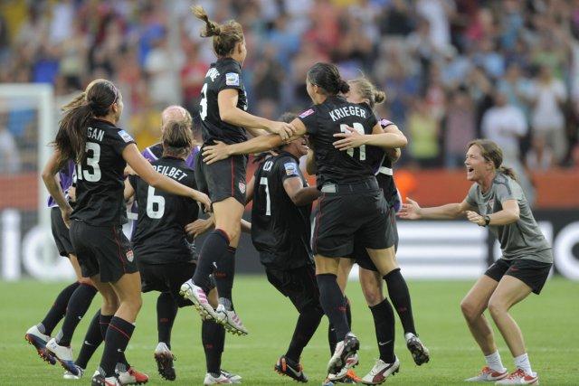 Coupe du monde femmes su de et tats unis entrent dans le dernier carr soccer - Coupe du monde etats unis ...