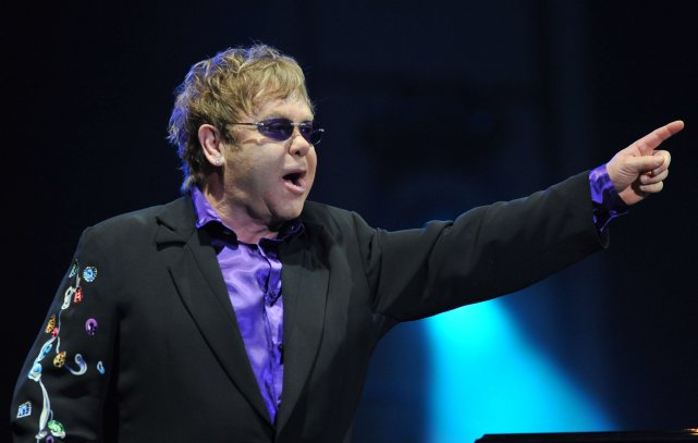 Elton John sur les Plaines... (Le Soleil, Steve Deschênes)