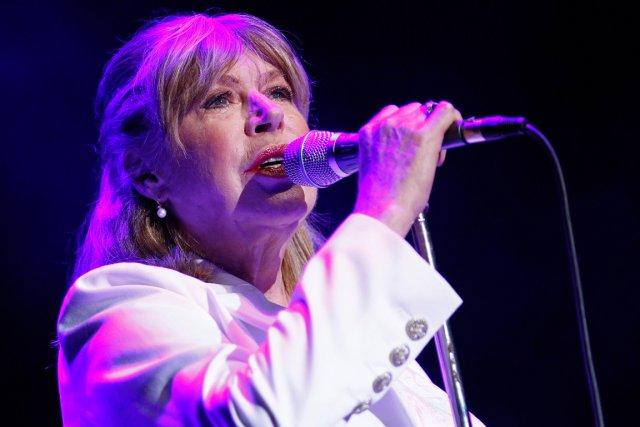 La vénérable rockeuse Marianne Faithfull est montée sur... (Le Soleil, Yan Doublet)
