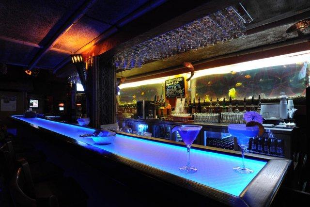 Le Cocunut Bar est une institution dans la... (Photo Sylvain Mayer, Le Nouvelliste)