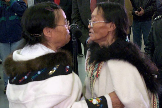 Les chants de gorge inuits sont un bon... (Photo: Paul Chiasson, archives PC)