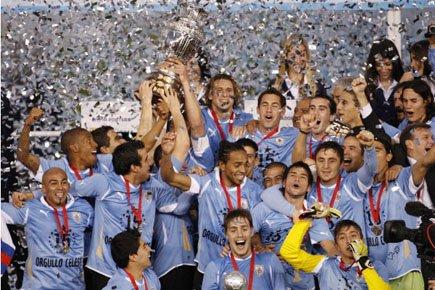 Et de quinze! L'Uruguay a étendu son record de titres continentaux en  battant... (Photo: Reuters)