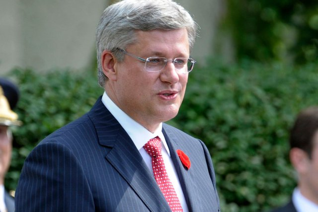 Stephen Harper... (Photo Reuters)