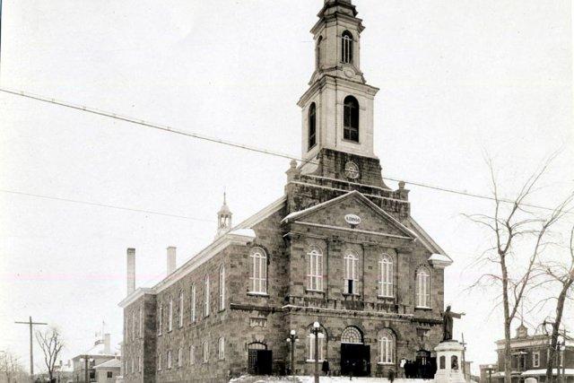 Église Notre Dame de la Victoire, construite en... (Archives Le Soleil)