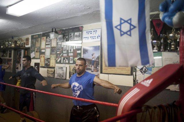 «Le club est ouvert à tous, juifs, arabes,... (Photo: Menahem Kahana, AFP)