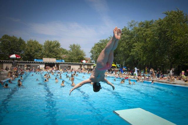 Jusqu'à hier, le mercure moyen pour juillet se... (Photo: André Pichette, La Presse)