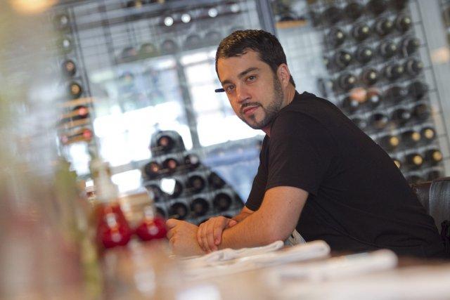 Guillermo Russo, jeune chef du nouveau Laurier BBQ,... (Photo: Hugo-Sébastien Aubert, La Presse)