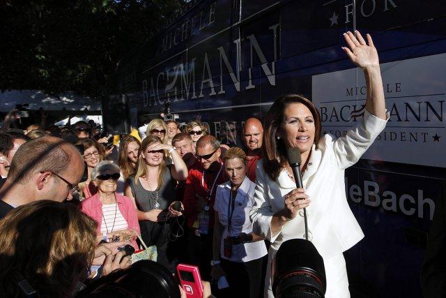 Michele Bachmann, candidate à l'investiture républicaine pour la... (Photo: AP)