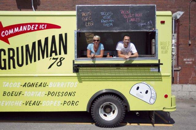 L'équipe de Grumman78 a décidé de s'installer là... (Photo: Marco Campanozzi, La Presse)