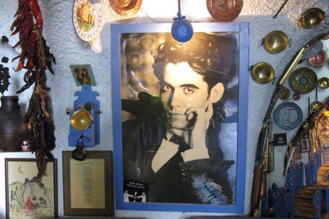 Une photo du poète Federico Garcia Lorca.... (Photo Éric Clément, La Presse)