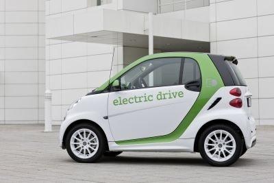 La Smart Fortwo électrique... (Photo: Daimler)