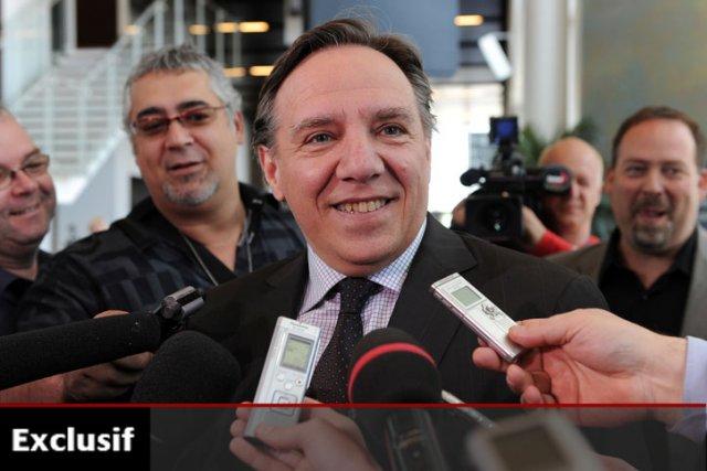 François Legaultest très populaire auprès des électeurs du... (Photo: Le Soleil)