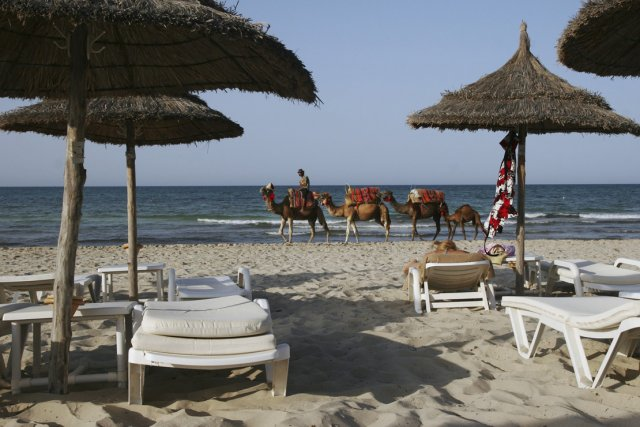 Une plage de Tunisie... (Photo: AFP)