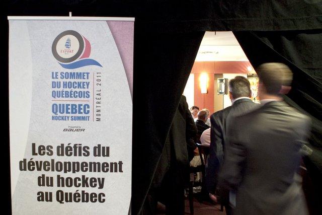 Le Sommet du hockey québécois, aussi innovateur que... (Photo: Marco Campanozzi, La Presse)