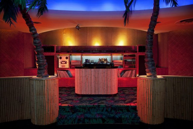 Le bar tiki de l'hôtel Waldorf, construit en... (Photo: PC)