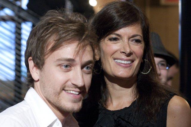 Benoît McGinnis et Anne-Marie Cadieux ont reçu les... (Photo André Pichette, La Presse)
