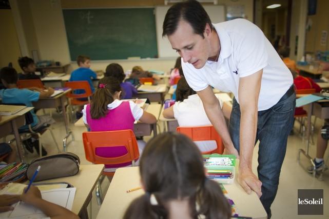 Jean-François Roberge, enseignant de la Rive-Sud... (Photothèque Le Soleil)