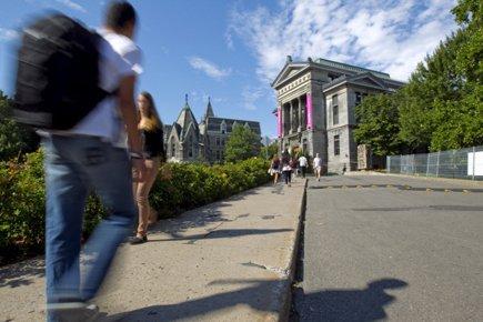 L'universitéMcGill a terminé 17e au palmarès établi par... (Photo: Alain Roberge, La Presse)